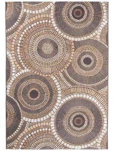 In- & Outdoor-Teppich Artis Braun 80x165 cm