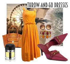 """Easy Outfitting:  Throw-and-Go Dresses"" by queenbeezzer ❤ liked on Polyvore featuring Vicenzo Leather, Boohoo, Ramon Monegal, Gucci and contestentry"