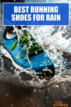 Don't let the weather dictate your running schedule. If the weather is rainy or the ground wet, you can still enjoy a run with the right pair of shoes. The best running shoes for rain have a waterproof upper to keep your feet dry. They should also have an outsole with plenty of traction on slick surfaces.