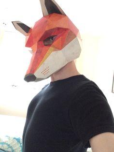 Fox Mask - Wintercroft  Wintercroft Fox Mask