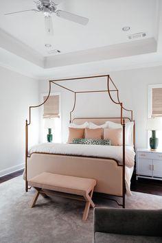 Brighton Keller dreams in our Park Lane Canopy Bed. Canopy Bed Curtains, Metal Canopy Bed, Canopy Bed Frame, Bed With Canopy, Modern Canopy Bed, Canopy Bedroom, Dream Bedroom, Home Bedroom, Master Bedroom