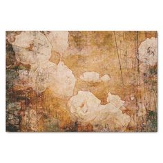 Shop art grunge floral vintage background texture tissue paper created by watercoloring. Personalize it with photos & text or purchase as is! Background Vintage, Art Background, Textured Background, Tissue Paper Art, Custom Tissue Paper, Art Grunge, Floral Vintage, Paper Quilling Designs, Unisex