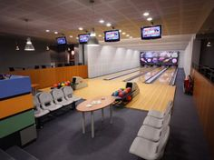 This is an architectural designed contemporary hotel in Prague won The Building of the Year Award in 2008, and its made using Eco-friendly materials. And has its own bowling ally! Not bad for a mid-range hotel.