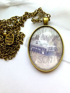 Supernatural Carry On My Wayward Son Inspired by JoanysTreasures