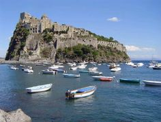 When the Greeks arrived on this coast more than 2,500 years ago, they first landed in Ischia. Only a few miles off the tip of Pozzuoli, Capo Miseno, Ischia was a perfect base from which the Greeks could reach the mainland.