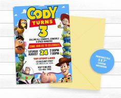 every kid must have, that start with n, toys months, toys woody toy story, toys ages toy story 3 talking jessie. Toy Story Theme, Toy Story 3, Toy Story Birthday, Toy Story Party, Toy Story Invitations, Birthday Party Invitations, Invitation Design, Invite, 90s Toys