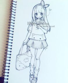 I really really really wish it was summer already ;v; #micron #fineliner #sketch