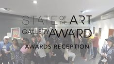 On 5 September 2019 we celebrated the second edition of the StateoftheART Gallery Award with a special Awards Reception and Finalists Exhibition. State Art, Awards, Art Gallery, Reception, Art Museum, Receptions