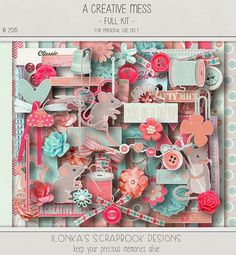 Ilonka's Scrapbook Designs: A Creative Mess by Ilonka's Scrapbook Designs