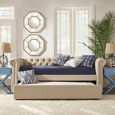 Carthusia Daybed with Trundle