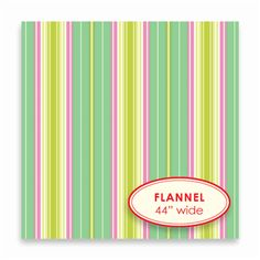 Lounge Stripe - turquoise - FLANNEL