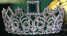 Grand Duchess Stephanie of Baden - Emerald Tiara