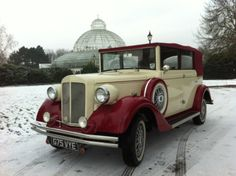 Love this wedding Car by Carriage Wedding Cars Liverpool