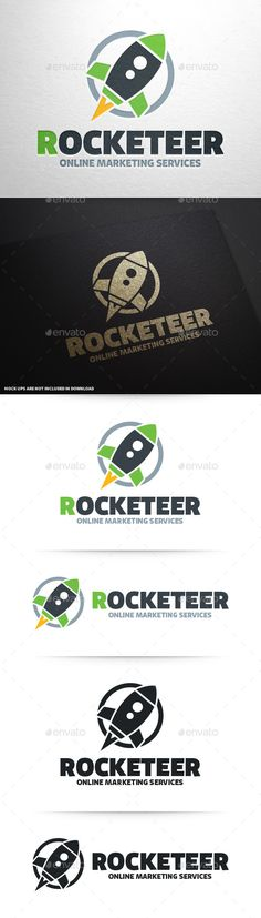 Rocket  - Logo Design Template Vector #logotype Download it here: http://graphicriver.net/item/rocket-logo-template/9253233?s_rank=576?ref=nexion