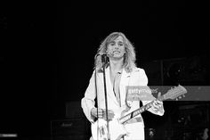 Robin Zander performing with Cheap Trick at the Palladium in New York City on May 25, 1979.