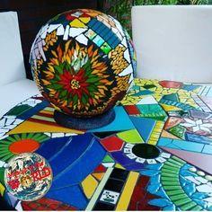 "125 curtidas, 4 comentários - Mosaic in the world (@mosaicintheworld) no Instagram: "" Mosaic in the world . Wonderful work friend❗ CONGRATULATIONS . . Artist:…"""