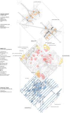 Mención Especial Concurso Plaza de les Glòries / Barcelona, España.