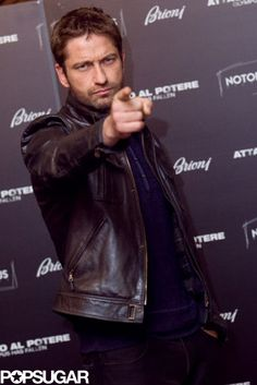 Gerard Butler means business! Get today's top pics here.