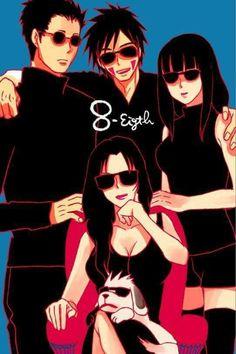 Naruto Kakashi, Anime Naruto, Team 8 Naruto, Naruto Comic, Naruto Fan Art, Naruto Funny, Naruto Girls, Manga Anime, Manga Girl