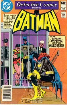 Jail - Robin - Batgirl - Jim Aparo