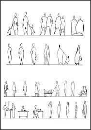 「people architectural drawing」の画像検索結果
