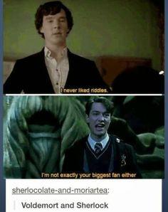 #HarryPotter  #Sherlock