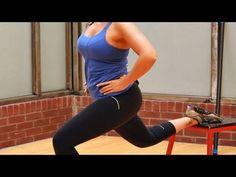 ▶ How to Do a Bulgarian Split Lunge   Female Bodybuilding - YouTube