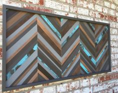 Wood Wall Art Wood Art Reclaimed Wood Art by moderntextures