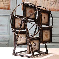 The 5 Inch Ferris Wheel Combination Frame Table Retro Windmill Photo Acrylic…