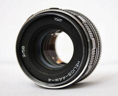 HELIOS-44M-4  2/58  KMZ  F/2  (s.n.834359) Soviet Russian Lens, Zenit lens. #Helios