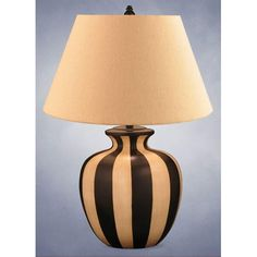 Hand Painted Table Lamp Lighting Enterprises Shaded Table Lamps Lamps