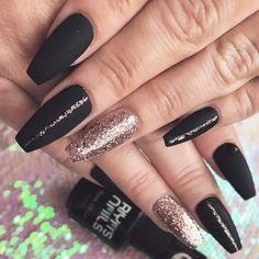 There is so much about coffin nail designs that you are still unaware of. That is why we couldn't just leave you unaware of the most recent trends and ideas you can easily pull off, if your nails are coffin-shaped. Enjoy! #nails #nailart #naildesign #coffinnails