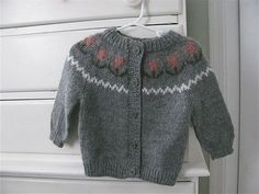 Items similar to Hand Knit Grey Baby Tulip Sweater on Etsy Tulips, Hand Knitting, Knitwear, Grey, Sweaters, How To Wear, Fashion, Gray, Moda
