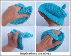 tuto maniques rondes au crochet