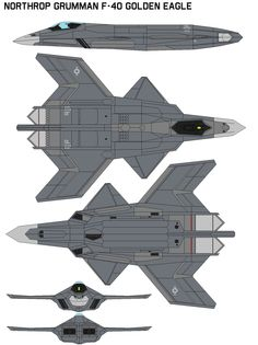 Northrop Grumman FA-40 Golden Eagle by bagera3005 on deviantART