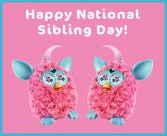 ¡Feliz día nacional de hermanos felices!