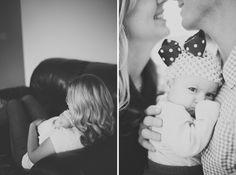 Baby between parents  Jess Renee Photography