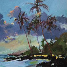 Darrell Hill's tropical blue