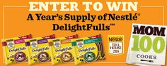 Enter for a Chance to Win a year's supply of Nestle DelightFulls