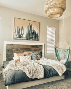 Home Bedroom guest bedroom House Apartment Condominium Furniture Interior design Room Ideas Bedroom, Dream Bedroom, Home Bedroom, Bedroom Inspo, Bedroom Designs, Girls Bedroom, Dream Rooms, Bedroom Furniture, Master Bedroom Decorating Ideas