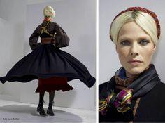Folk Costume, Costumes, Handicraft, Textiles, Model, Concept, Blanket, Design, Art