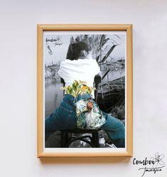 Làmina collage de Comboi de Tarongina Toulouse, Polaroid Film