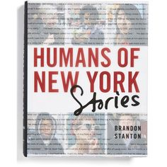 'Humans Of New York: Stories' Book found on Polyvore featuring home, home decor, white and white home decor