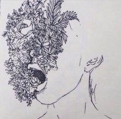 Fabulous Drawing On Creativity Ideas. Captivating Drawing On Creativity Ideas. Art Inspo, Kunst Inspo, Inspiration Art, Tumblr Roses, Art Tumblr, Art Plastique, Aesthetic Art, Aesthetic Drawings, Flower Aesthetic