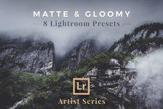 Matte & Gloomy – Lightroom Presets by PhotoMarket on @creativemarket