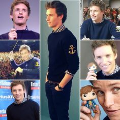 Casting his spell: Eddie Redmayne tasted his new next-level stardom and impressed the NoMajs at Comic Con.