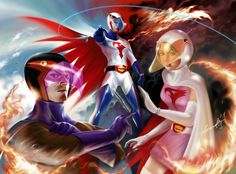 Gatchman, G Force, Battle of the Planets