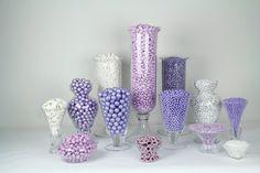 lavender lollipop candy trays - Google Search