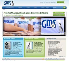 GMS website design