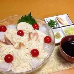 久しぶりの投稿です!  (^-^) - 16件のもぐもぐ - 素麺! by keisat